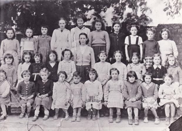 Ecole fille 1950